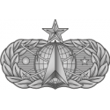 AF Space and Missile Badge (Silver) Decal