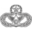 AF Master Civil Engineer Badge (Silver)  Decal