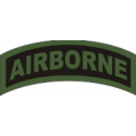 Airborne Tab Decal  OD