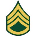 Army E-6 SSG Staff Sergeant