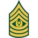 Army E-9 CSM Command Sergeant Major