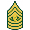 Army E-9 SMA Sergeant Major of the Army