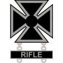 Army Marksman Weapons Qualification Badge  Decal