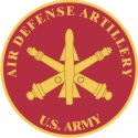 Army Air Defense Artillery Insignia Decal