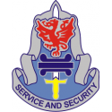 Army Service & Security Group Decal