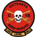 C/16th Air Cav Aero Scouts  Decal