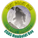 CGAS Humboldt Bay Bigfoot Decal