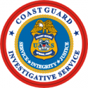 Coast Guard Investigative Service Decal