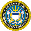 Coast Guard Maritime Safety & Security Team Decal