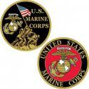USMC Challenge Coin Iwo Jima