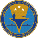Chief of Naval Education and Training CNET Decal