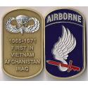 "173rd Airborne Brigade ""Dog Tag"" Style Challenge Coin"