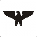 O-6 Colonel Silhouette (White) Decal