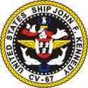 CV-67 USS John F. Kennedy Decal