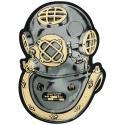 Navy Diver Helmet Decal