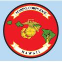 Marine Corps Base HAWAII 3.75″x3.75″ Decal