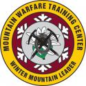 MOUNTAIN WARFARE WINTER MOUNTAIN LEADER DECAL