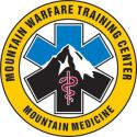 MOUNTAIN WARFARE MOUNTAIN MEDICINE DECAL