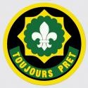 Army 2D Armored Cavalry Regt TOUJOURS PRET Decal