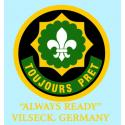 "2ND ARMORED CAVALRY REGIMENT ""ALWAYS READY"" DECAL"