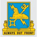 Army Military Intelligence Always Out Front Decal