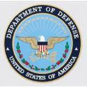 DEPARTMENT OF DEFENSE SEAL DECAL