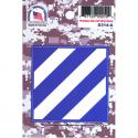3rd Infantry Division 4 Color Process Decal