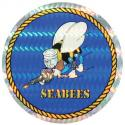 Navy Seabees Decal