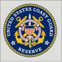 US Coast Guard Reserve Round Decal