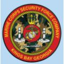 MARINE CORPS SECURITY COMPANY KINGS BAY GEORGIA DECAL