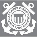 Coast Guard Jumbo Vinyl Transfer