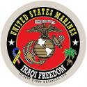 US Marine Corps Iraqi Freedom Decal
