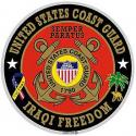 US Coast Guard Iraqi Freedom Decal