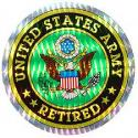US Army Retired Decal
