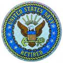 US Navy Crest Retired Decal