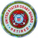 US Coast Guard Retired Decal