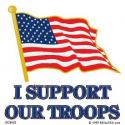 I Support Our Troops Decal