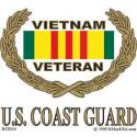 Vietnam VETERAN (Coast Guard) Decal