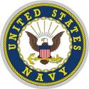 US Navy Crest Decal