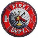 Large Fire Department Decal