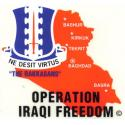 Army 187th Iraqi Freedom Airborne Decal