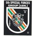 Special Forces 5th Group (Afghanistan) Decal