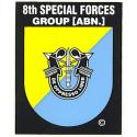 Special Forces 8th Group Decal