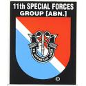 Special Forces 11th Group Decal
