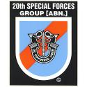 Special Forces 20th Group Decal