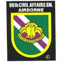 Special Forces 96th Civil Affairs Decal
