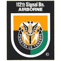 Special Forces 112 Signal BN. Decal