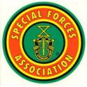 Special Forces Association Round Disc Decal
