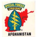 Special Forces Afghanistan Decal