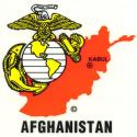 USMC Afghanistan Decal